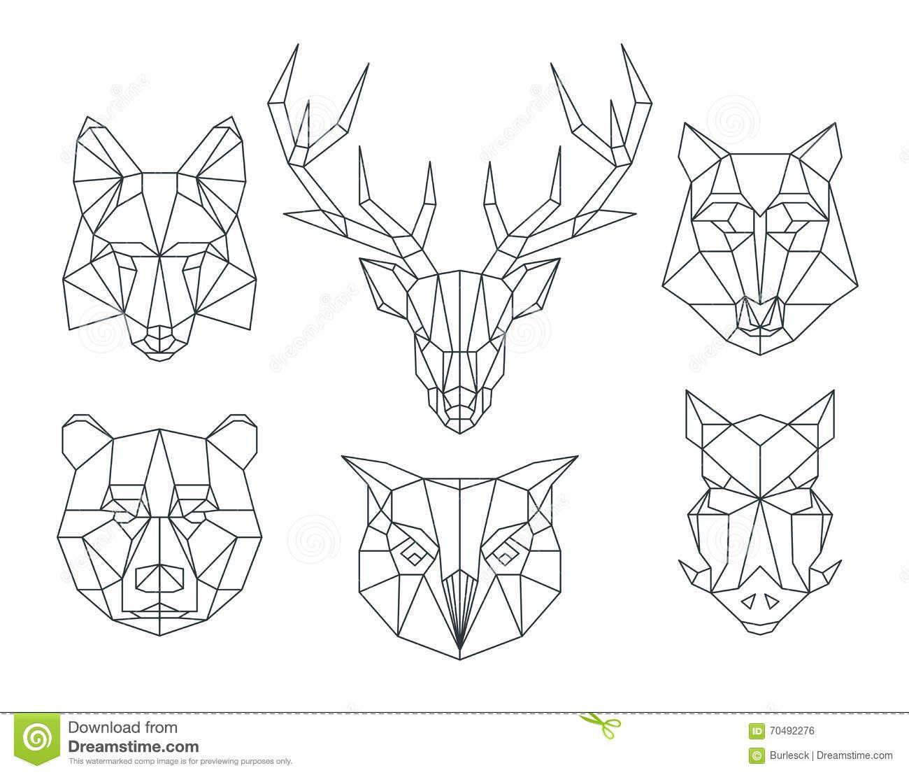"""Résultat de recherche d'images pour """"sanglier origami ... - photo#27"""