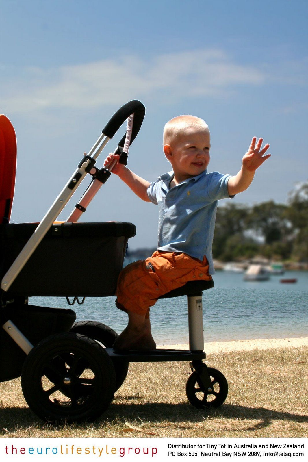 Twoo seat for Bugaboo Wheeled board.