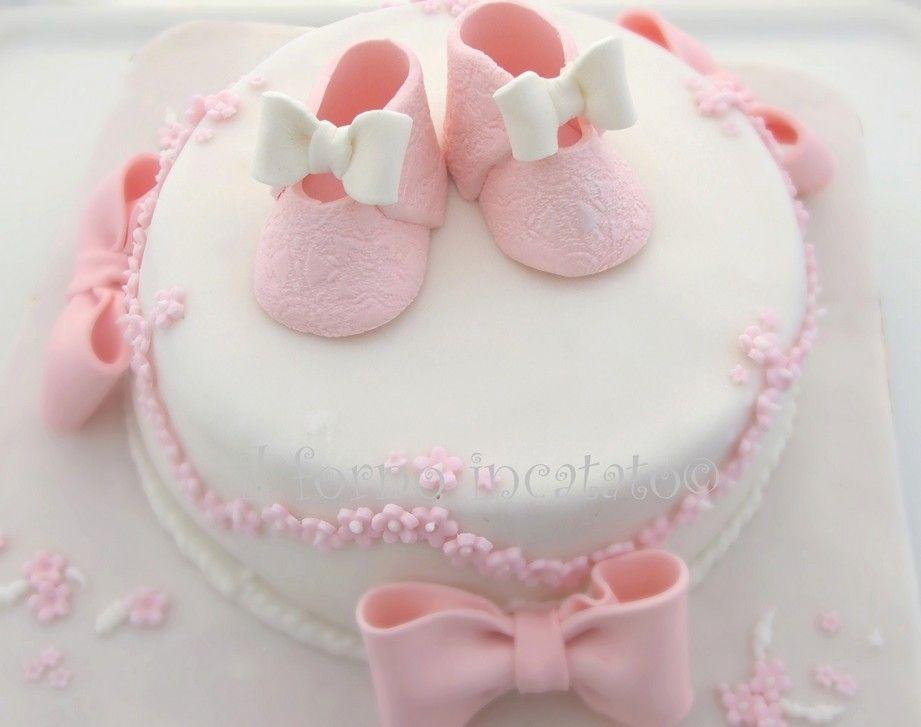 Torta battesimo bimba torta torte e primo compleanno - Decorazioni per battesimo bimba ...