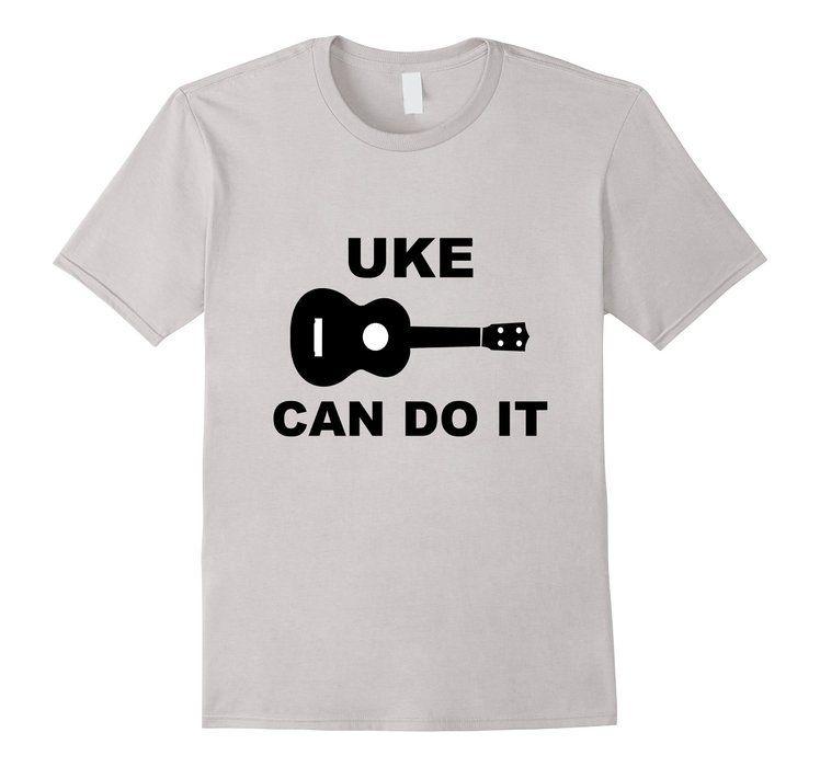 Fiori Ukulele Manica Lunga T-shirt 7pgeFmC8