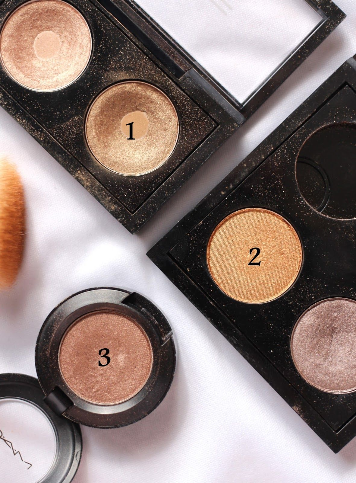 top 3 mac eyeshadows for green eyes | hair and beauty