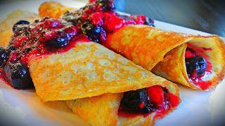 Aneka Resep Masakan Internasional Resep Praktis French Crepes Resep Makanan Resep Sarapan Resep Masakan