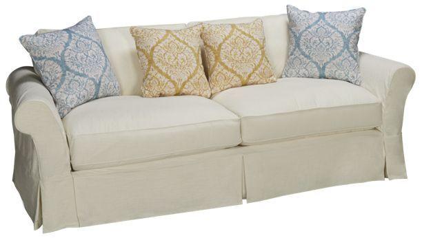 Four Seasons Alyssa Alyssa Sofa Grande 2 Seat with Slipcover