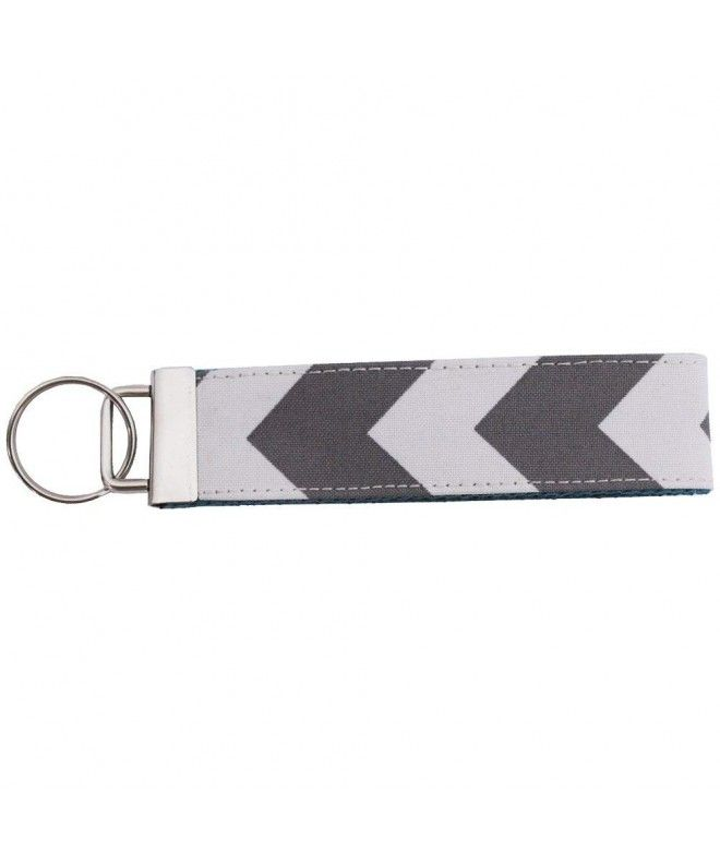 Silver Key Ring Material  Canvas br  Dimensions  5½ x 1¼
