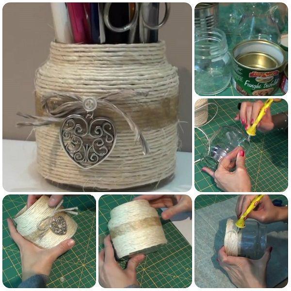 Barattoli di Nutella? Ecco 25 modi per poterli riciclare.  Jars, Un ...