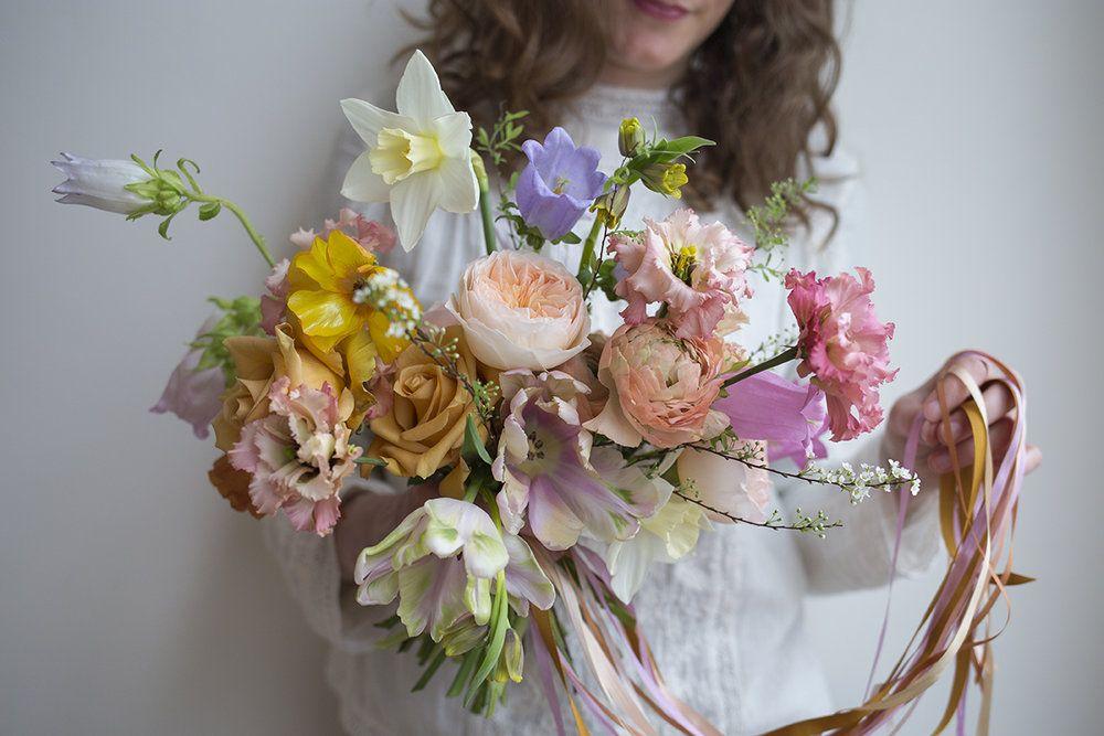 Colourful spring flowers aesme flowers london colorful florals colourful spring flowers aesme flowers london mightylinksfo