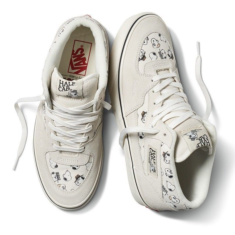 26a747ae5a (eBay link) NIB Vans x Peanuts Snoopy Family Marshmallow Half Cab size Men  US 11  fashion  clothing  shoes  accessories  mensshoes  athleticshoes