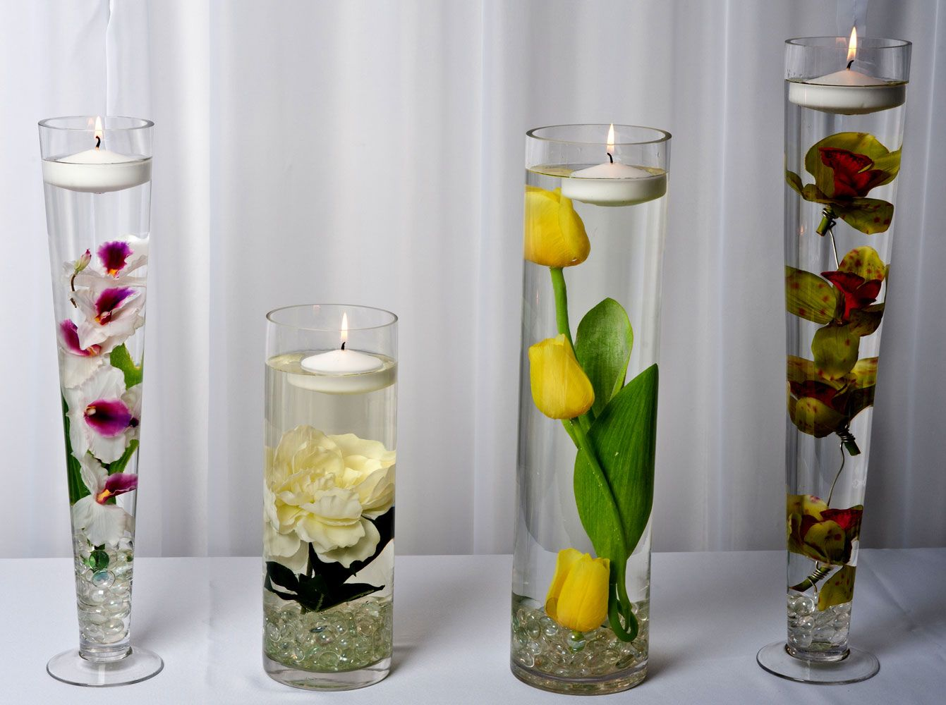 Floral Submerged Centerpieces | Flower Arrangements & Houseplants ...