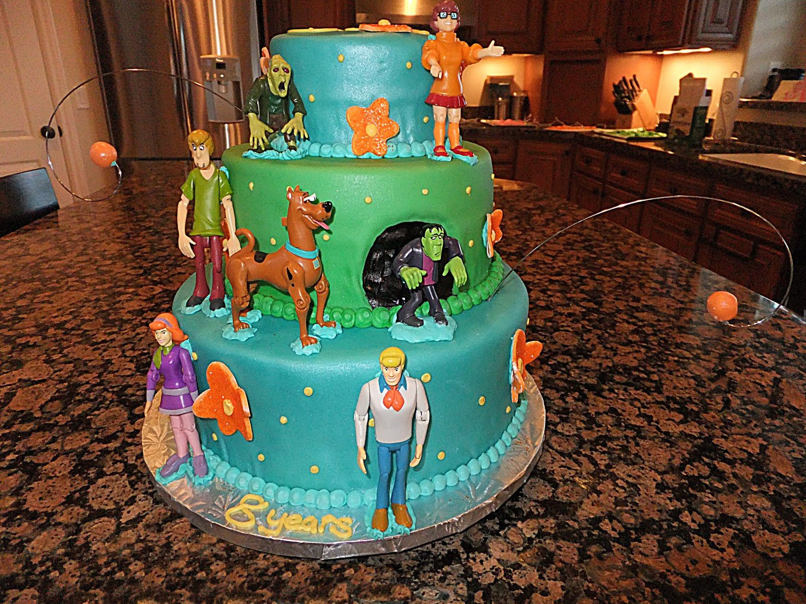 scooby do birthday cake Scooby Doo Cakes Decoration Ideas