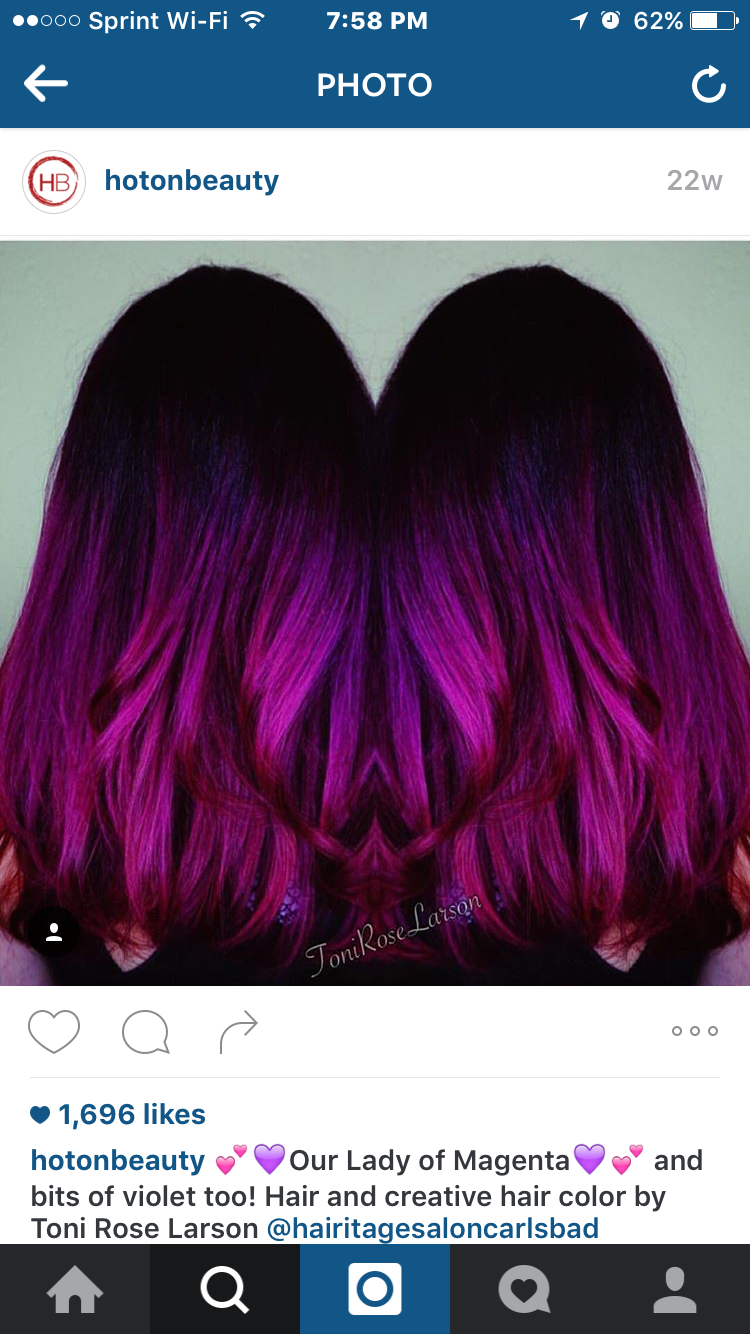 Pin By Lisa Harbaugh On Cool Hair Pinterest Amazing Hair Color