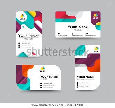 Business greeting card template design introduce card include business greeting card template design introduce card include sample text position vector illustration design stock vector reheart Images