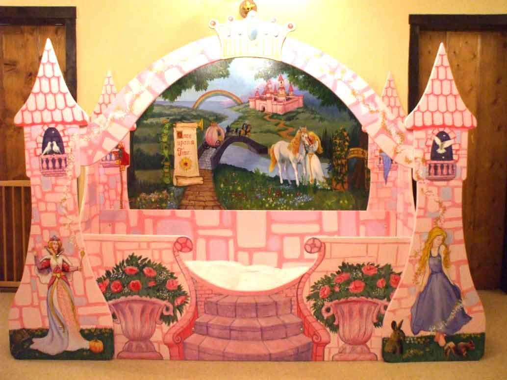 Interior design the effect using fairytale bed for your for Fairytale beds