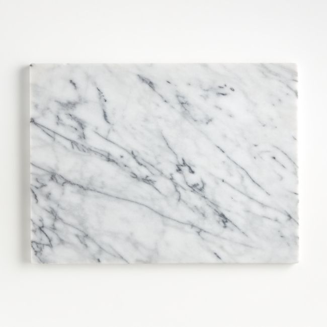 French Kitchen Marble Platter + Reviews | Crate and Barrel