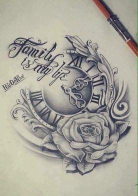 49 Amazing Clock Tattoos Ideas Watch Tattoos Tattoo Design Drawings Tattoos