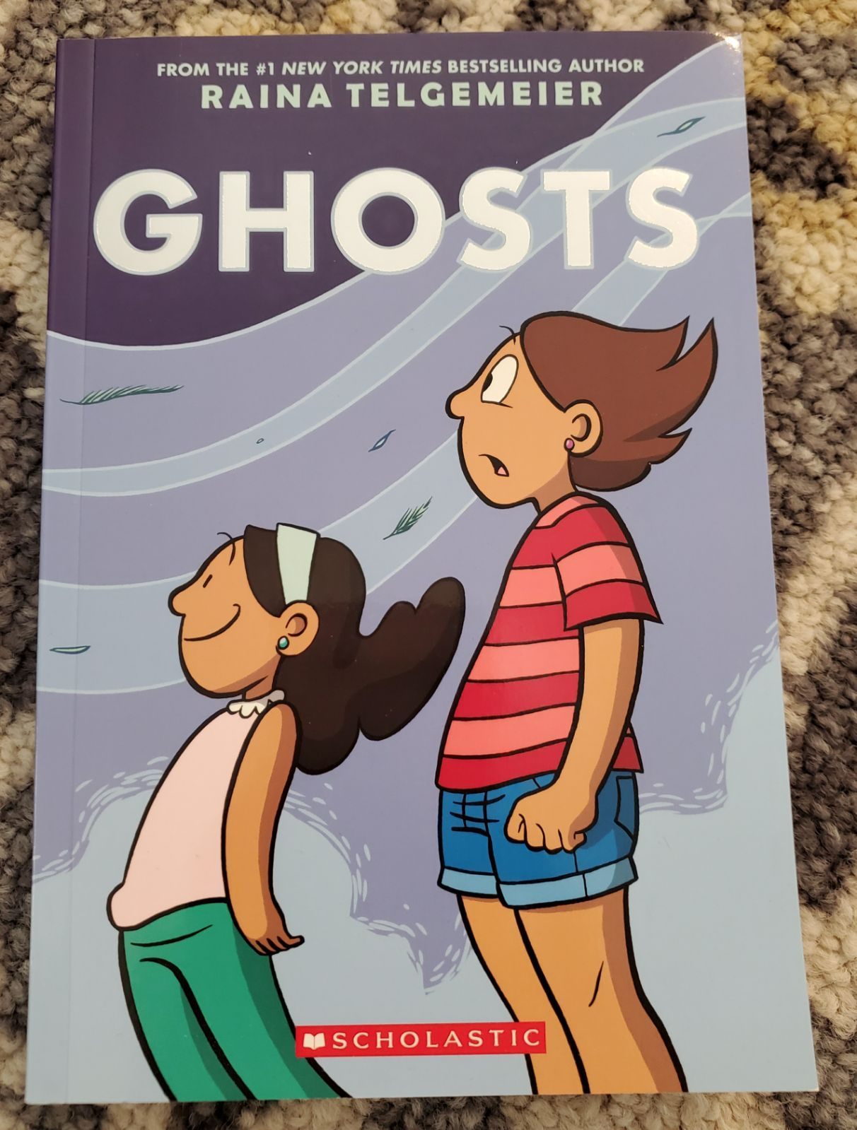 Ghosts book by Raina Telgemeier. New condition. in 2020