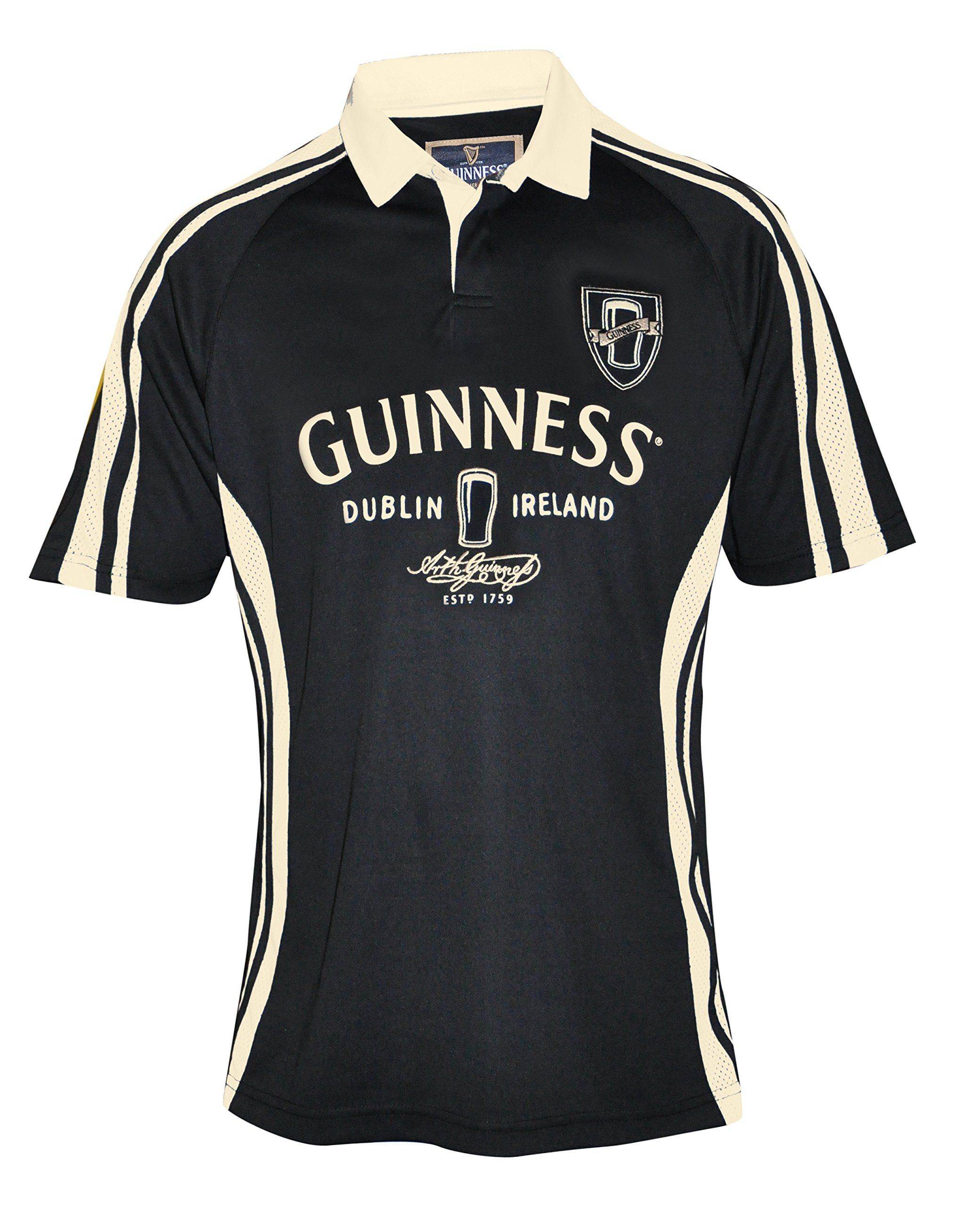 7749f25d944 Guinness Dublin Performance Rugby Shirt | Guinness Clothing | Rugby ...