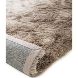 benuta Hochflor Shaggyteppich Whisper Beige/Hellbraun 240×340 cm – Langflor Teppich für Wohnzimmer b