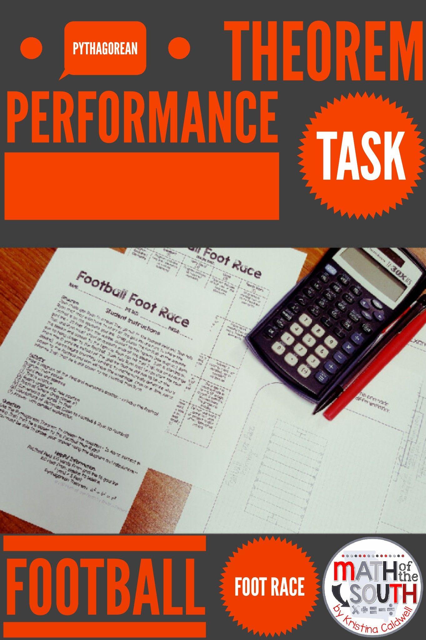 Pythagorean Theorem Performance Task