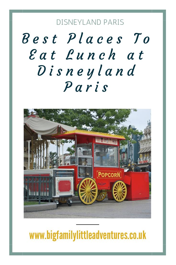 Photo of Die besten Orte zum Mittagessen im Disneyland Paris