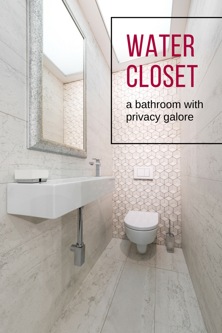 What is a water closet a bathroom with privacy galore - What uses more water bath or shower ...