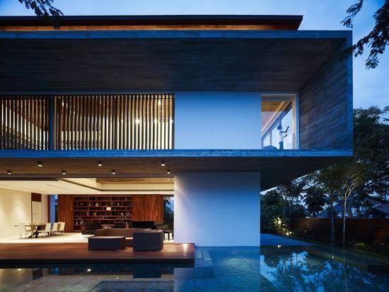 Architects: ONGu0026ONG Pte Ltd Location: Bukit Timah, Singapore Design Team:  Diego Molina, Maria Arango Project Year: 2011 Photographs: Derek.