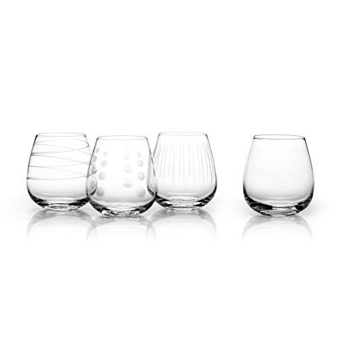 512d19fadf31 Mikasa Cheers Stemless Wine Glass 15Ounce Set of 4   You can get more  details by