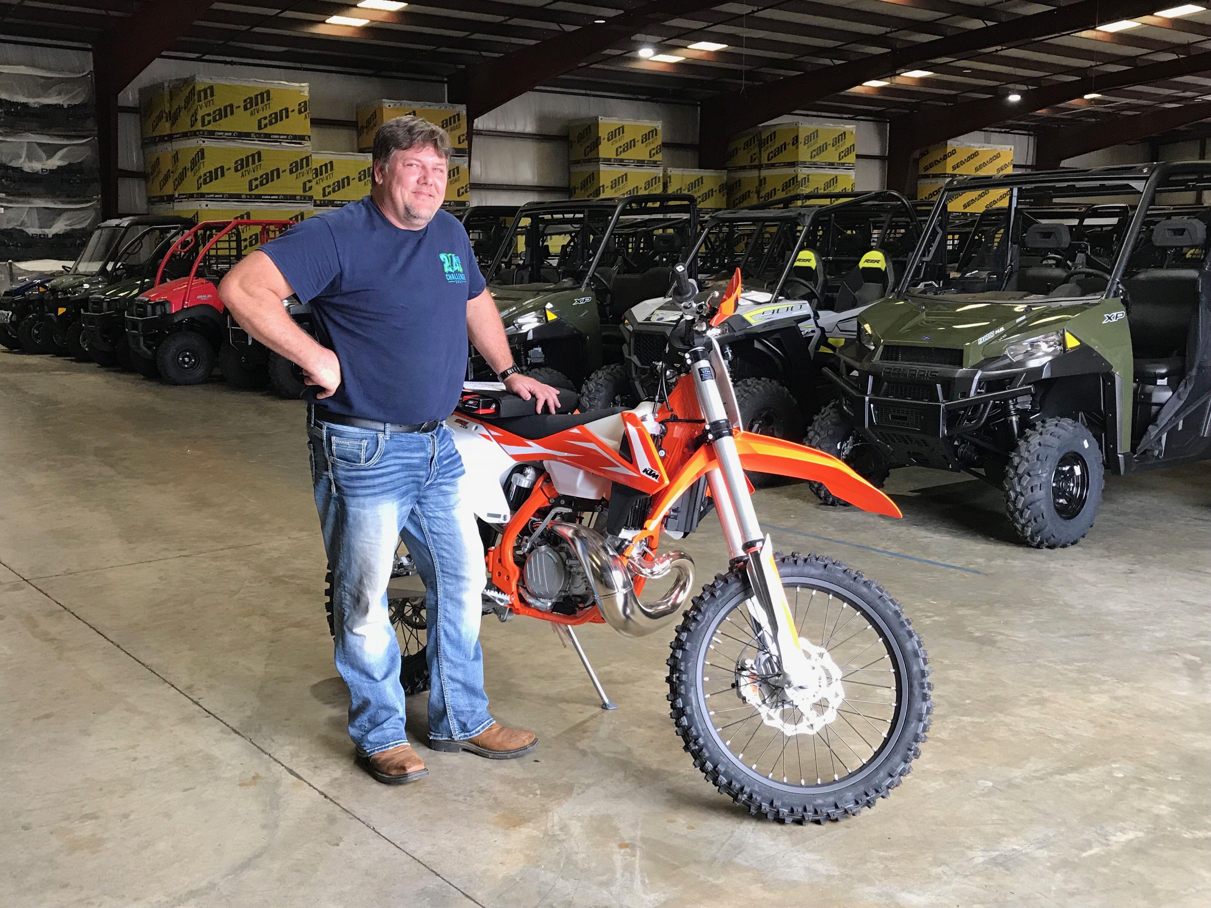 Congratulations to Michael Green from Plantersville, AL for