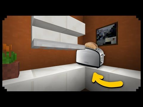 Minecraft How To Make A Dishwasher Youtube Minecraft Tutorial Minecraft Minecraft Videos