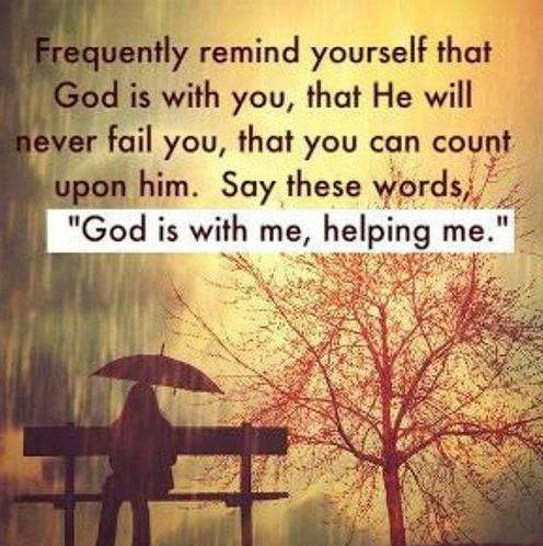 Christian Quotes About Love Interesting God Is Always With You Quotes That I Love  Pinterest