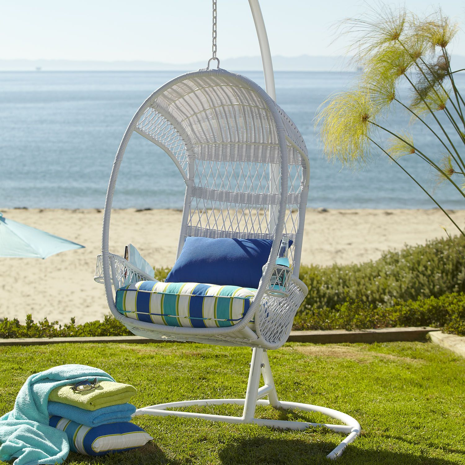 Swingasan®   White | Pier 1 Imports. Backyard SwingsMy Dream ...