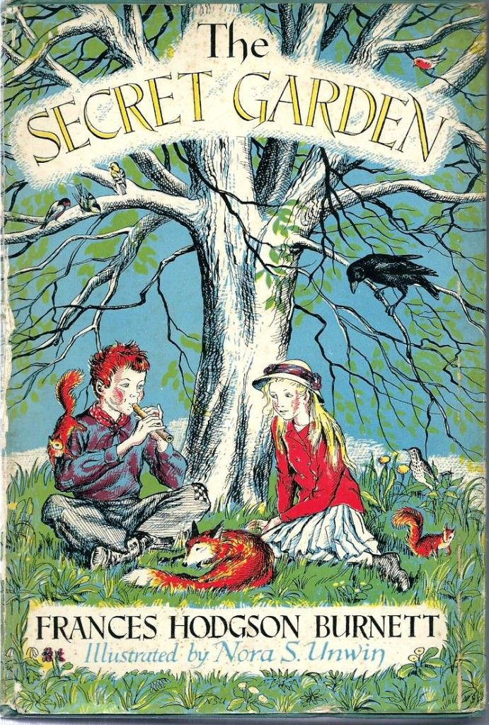 The Secret Garden, 1949 This vintage copy illustrated by