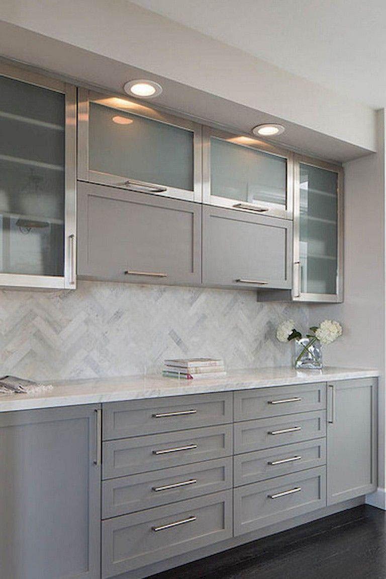 Rustic Kitchen Cabinets Backsplash With Dark Cabinets Modern