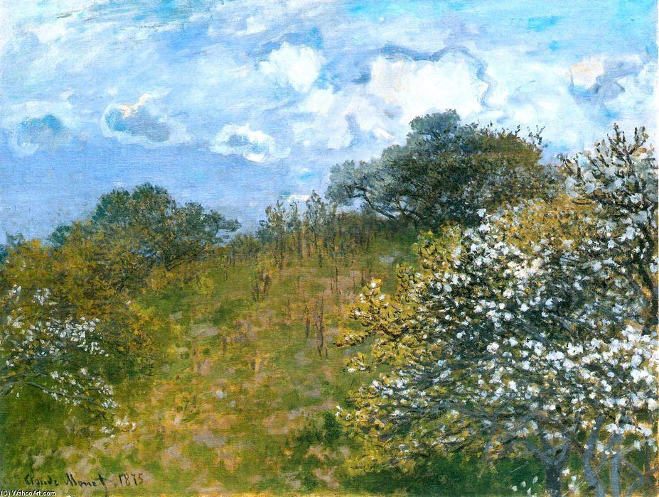 Claude Monet Printemps Monet Peinture Monet Tableau Monet