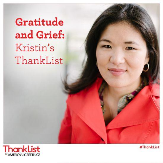 Gratitude and grief kristins thanklist grief gratitude and gratitude and grief kristins thanklist american greetings blog m4hsunfo