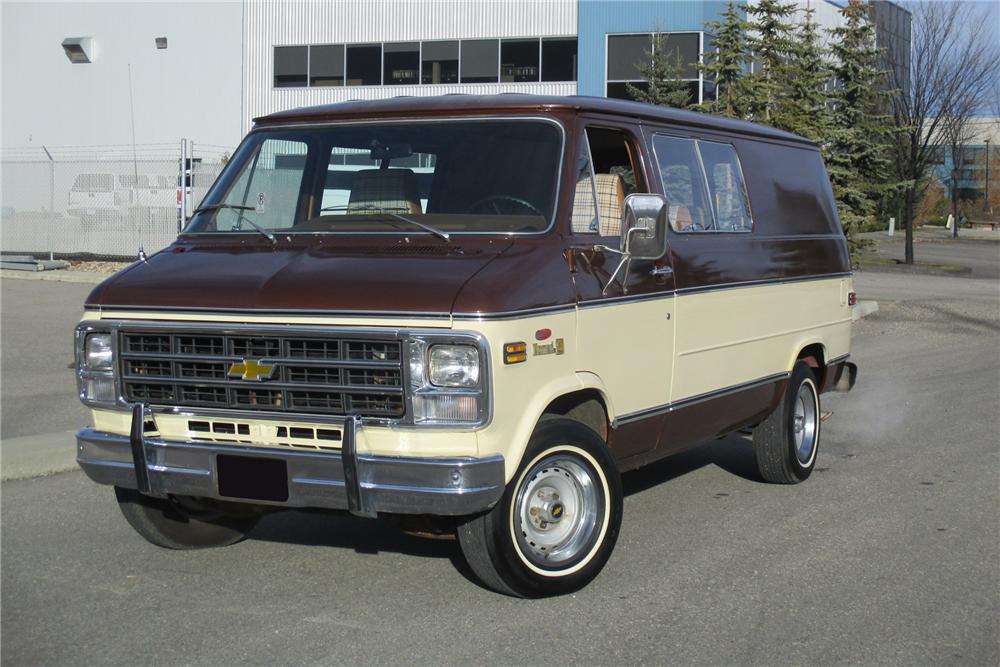 1979 Chevrolet Nomad Van Jackson Auto S En Motoren Motor