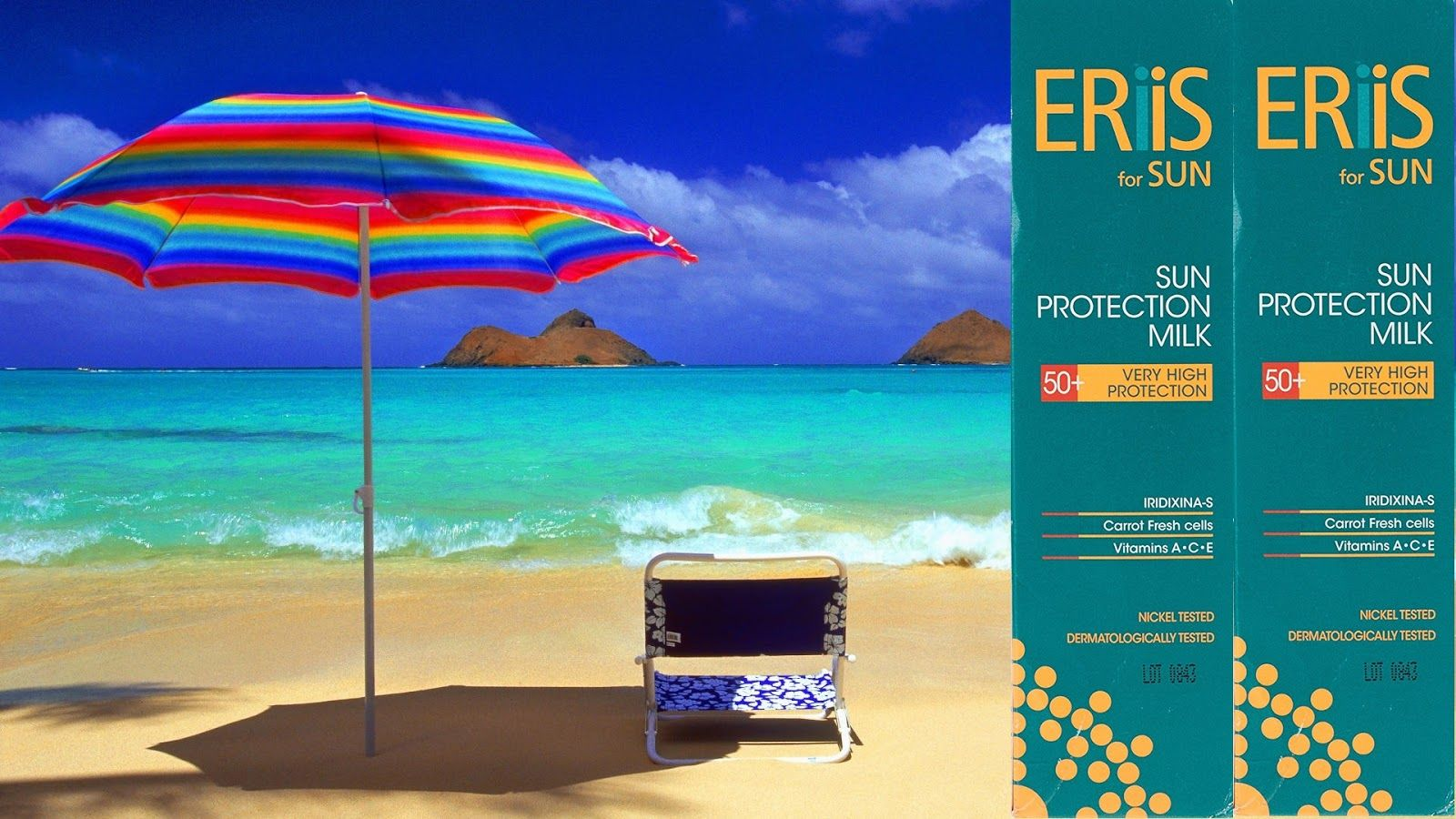 Eriis For Sun With Uva Uvb And Infrared Filters Spf50 Tropical Paradise Wallpaper Hawaii Beaches Beach Desktop wallpaper uva wallpaper