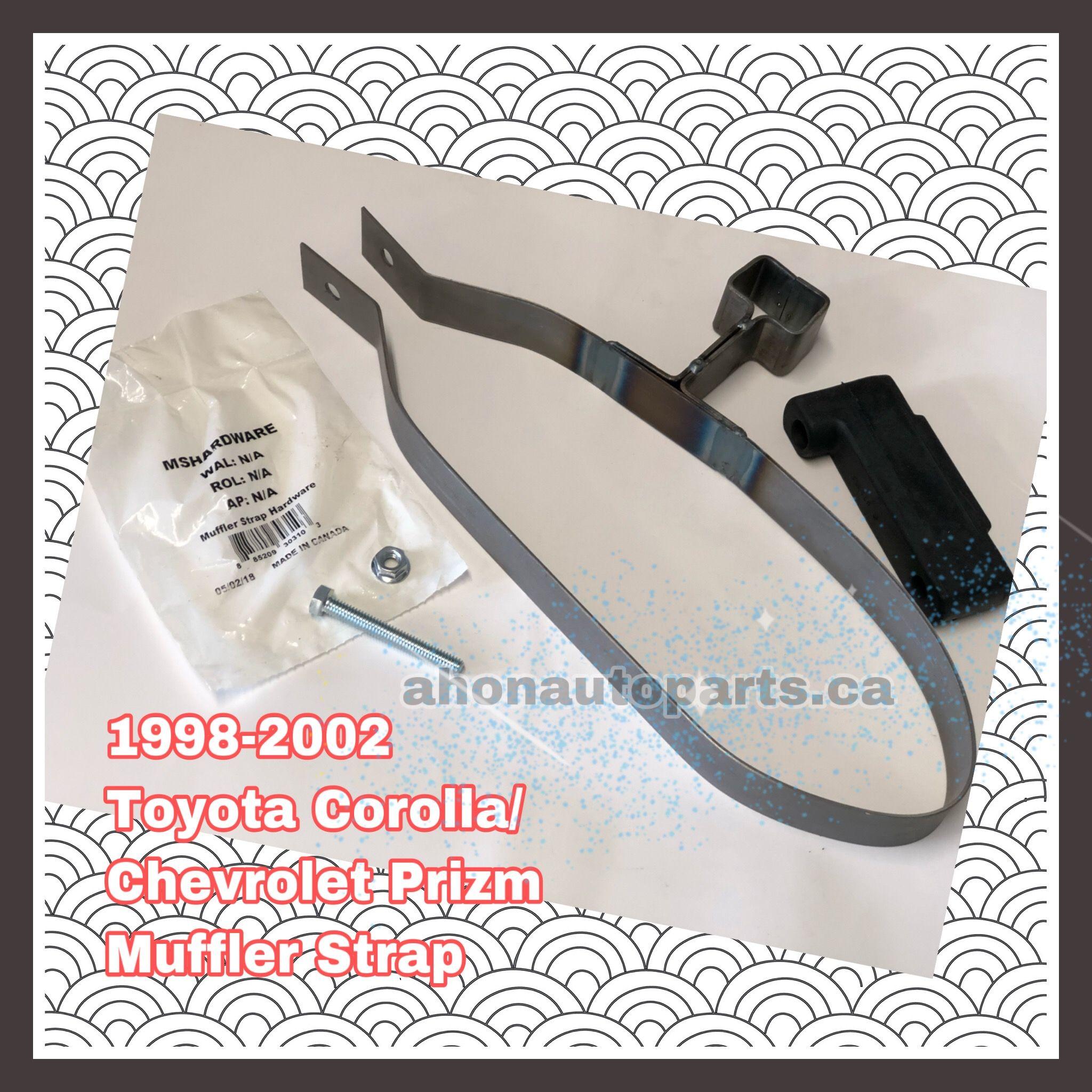 Muffler Strap fits 1998-2002 Toyota Corolla  WALKER
