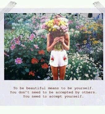 accept yourself first