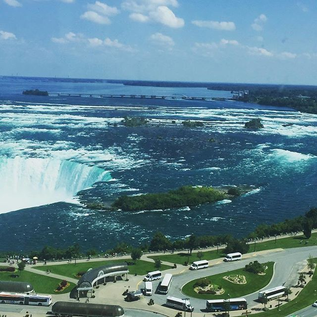 Experience a #WholeNewView of Niagara Falls ; Photos of Niagara Falls taken from our Fallsview Rooms overlooking the Falls. https://www.marriottgatewayonthefalls.com/