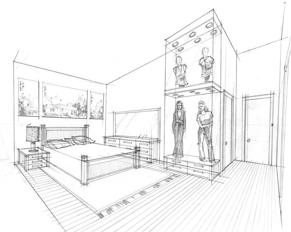 Vista Interior Casa Moderna 4 Planos De Casas