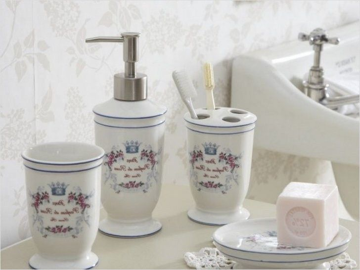 42 Gorgeous Shabby Chic Bathroom Accessories Ideas Bathroom Ideas