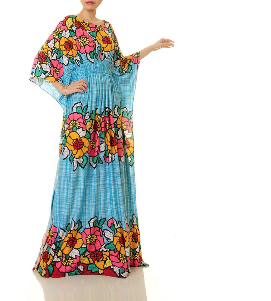 Moroccan Kaftan | Dubai Kaftan Dress | Jersey Abaya Kaftan Maxi ...