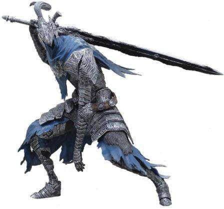 Dark Souls DXF Knight Artorias The Abysswalker 7-Inch Collectible PVC Figure #02