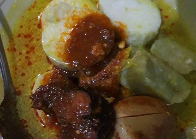 Resep Lontong Khas Banjar Oleh Mama Nurul Cantiek Resep Resep Resep Masakan Masakan