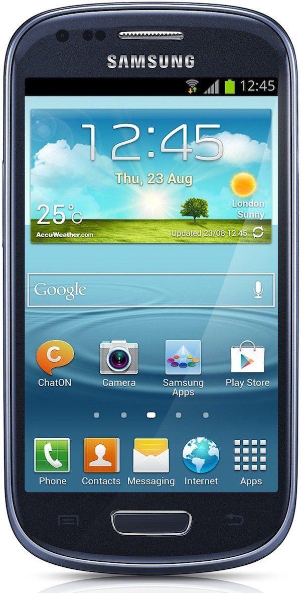 Amazon.com: SAMSUNG GALAXY S III MINI i8190 (BLUE) International no ...