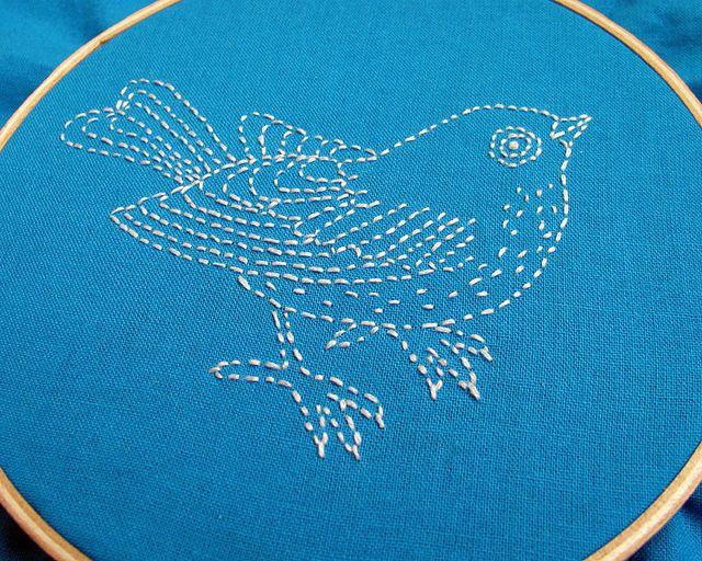 bluebird by Wendymoon Designs, via Flickr