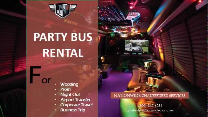 Pin by Limo Rental Atlanta on Party Bus Rental Party bus