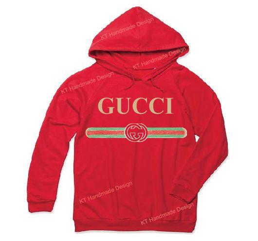e675861cec7 Gucci Vintage Retro Hoodie Sweatshirt Ladies Woman Men Unisex ...