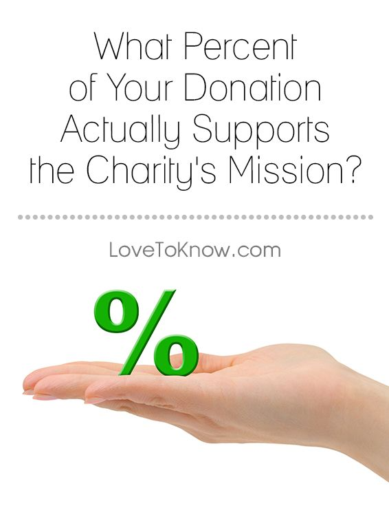 How Much Charity Money Actually Goes To Charity
