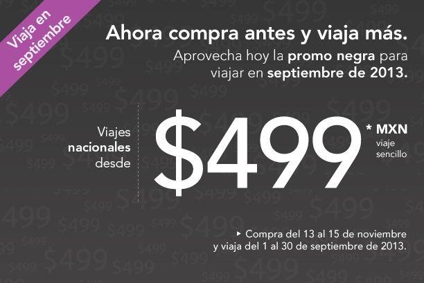 Compra ahora y viaja en septiembre del 2013!